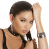 Leather choker with studs - Leather choker with studs.